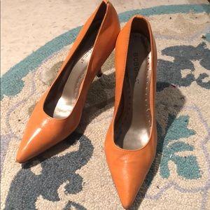BCBG Orange heels